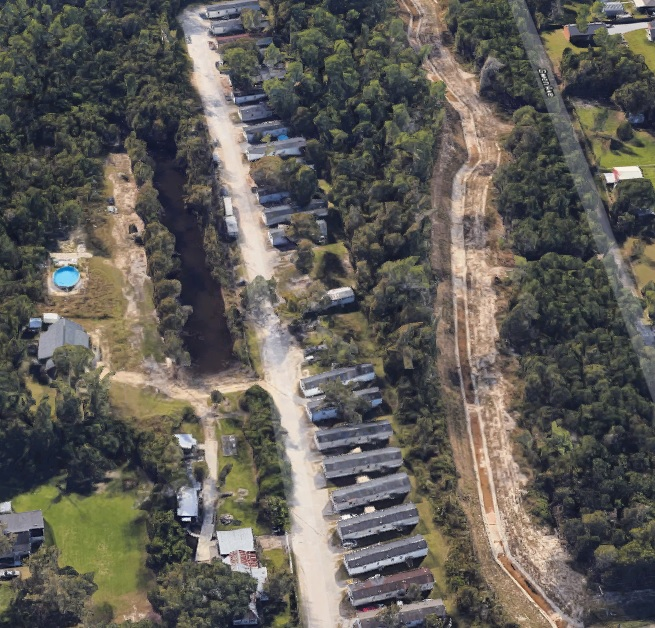 916 Spanish Trail Waveland MS - view from above